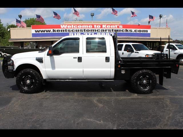 2008 Ford F-250 SD XLT Crew Cab 4WD Bale Bed