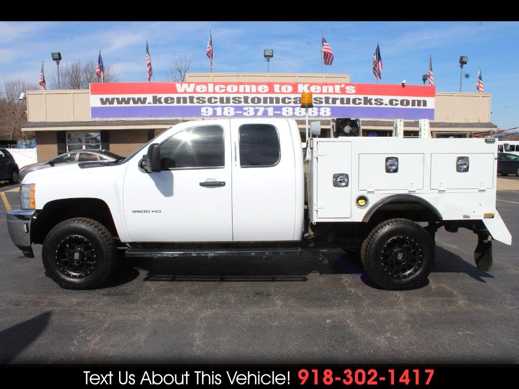 2013 Chevrolet Silverado 2500HD Work Truck Extended Cab 4WD Service Body SB
