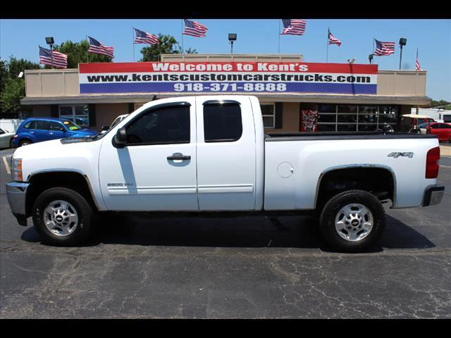 2012 Chevrolet Silverado 2500HD LT Extended Cab 4WD Short Bed