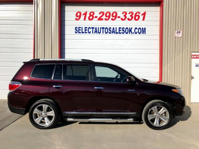2012 Toyota Highlander Limited 2WD