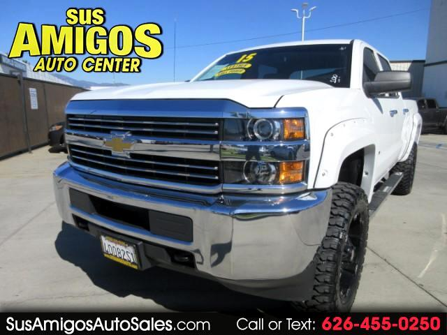 2015 Chevrolet Silverado 2500HD Crew Cab Short Bed 2WD