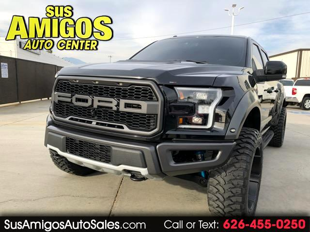 2017 Ford F-150 SVT Raptor SuperCrew 5.5-ft. Bed 4WD