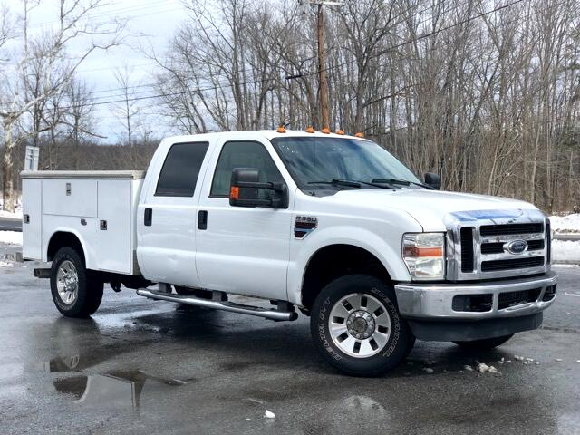 2008 Ford F-350 SD XLT CREW CAB LONG BED 4WD 4X4 UTILITY BODY SERVICE