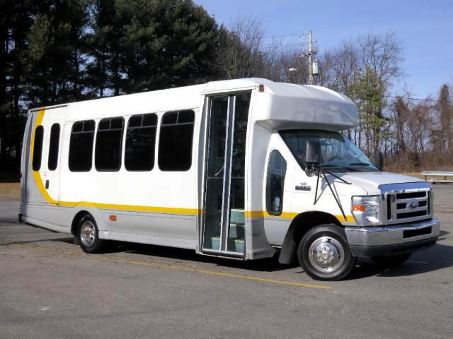 2008 Ford Econoline E450 TURTLE TOP ODYSSEY BUS WHEELCHAIR LIFT CHEAP