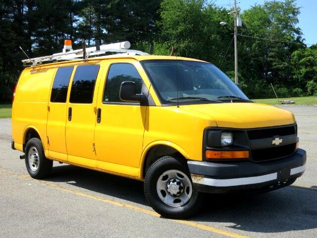 2006 Chevrolet Express 2500 Cargo VAN UTILITY BINS ROOF RACKS