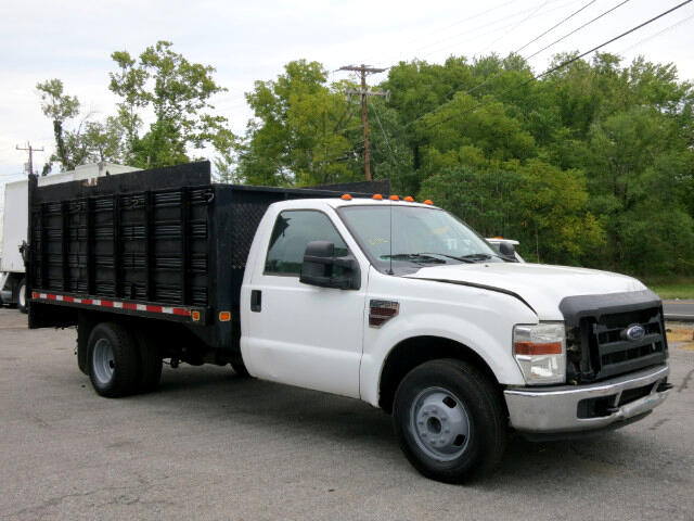 2008 Ford F-350 SD XL DRW 2WD RACK BODY STAKE BED TRUCK LIFTGATE