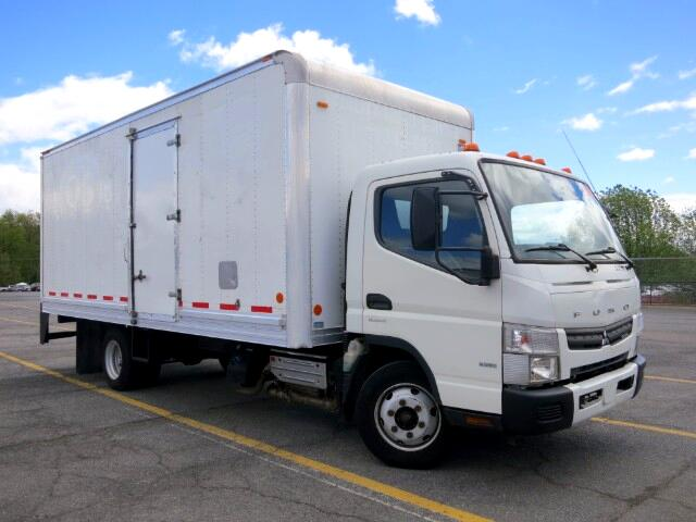 2012 Mitsubishi Fuso FE CANTER 18 FOOT BOX TRUCK CURBSIDE DOOR LOW MILES