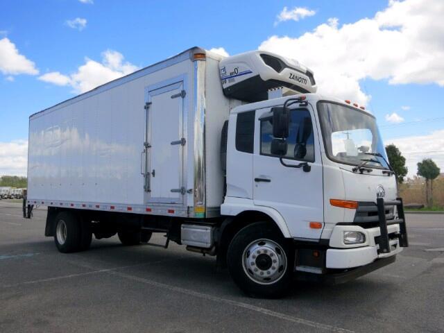 2011 UD Truck UD2600 UD3300 ZANOTTI REEFER CURBSIDE DOOR 24 FOOT BOX