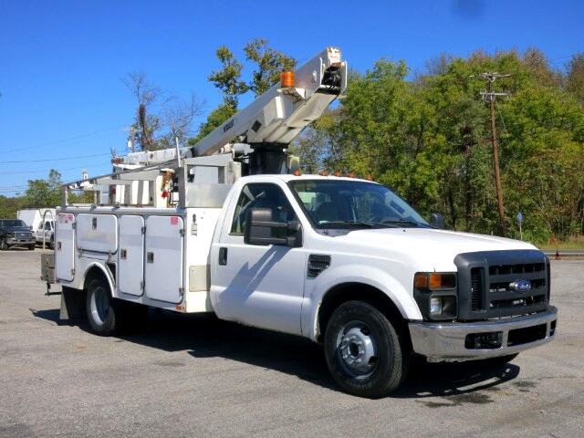 2008 Ford F-350 SD BUCKET TRUCK CHERRY PICKER TELSTA 35FT BOOM LOW MI