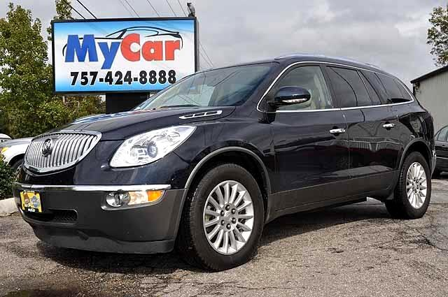 used 2011 buick enclave for sale in virginia beach va. Black Bedroom Furniture Sets. Home Design Ideas