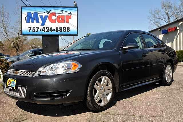 used 2014 chevrolet impala limited lt for sale in virginia. Black Bedroom Furniture Sets. Home Design Ideas