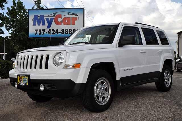 used 2015 jeep patriot sport 4wd for sale in virginia beach va 23464 my car. Black Bedroom Furniture Sets. Home Design Ideas