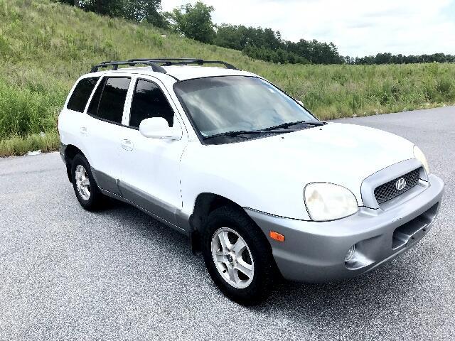 2001 Hyundai Santa Fe GL V6 4WD