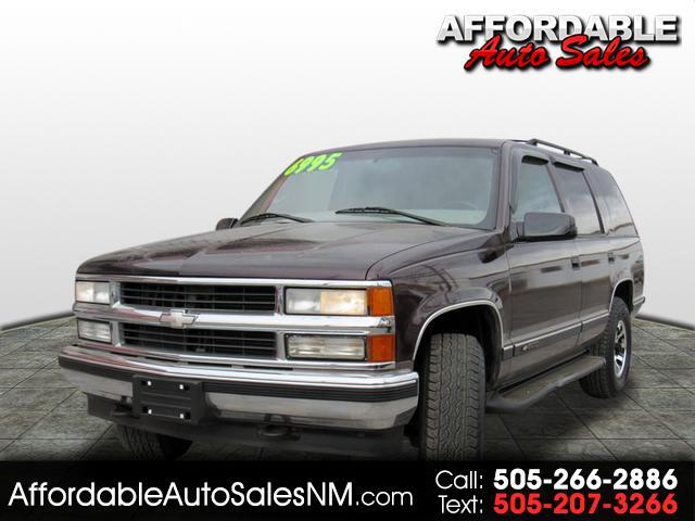 1997 Chevrolet Tahoe 4-Door 4WD