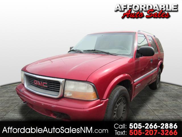 2000 GMC Jimmy SLT 4-Door 4WD