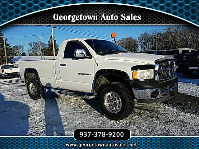 2005 Dodge Ram 2500 Reg. Cab Long Bed 4WD