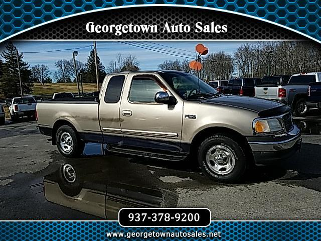 "2001 Ford F-150 2WD SuperCab 145"" XLT"