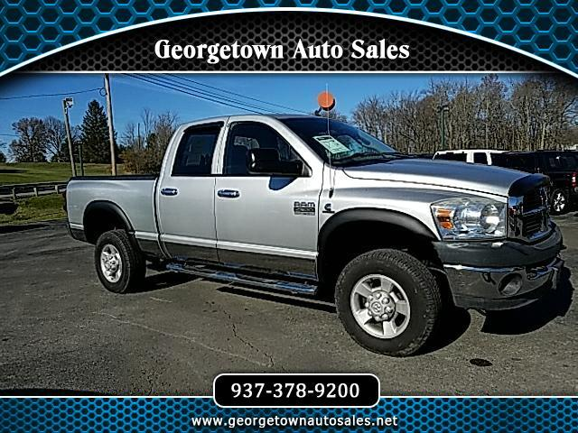 2007 Dodge Ram 2500 SLT Quad Cab Short Bed 4WD