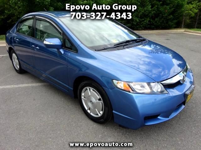 2010 Honda Civic Hybrid CVT AT-PZEV