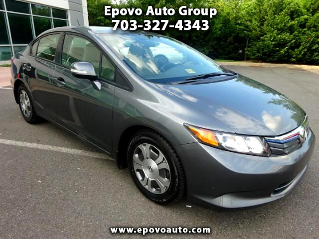 2012 Honda Civic Hybrid CVT AT-PZEV
