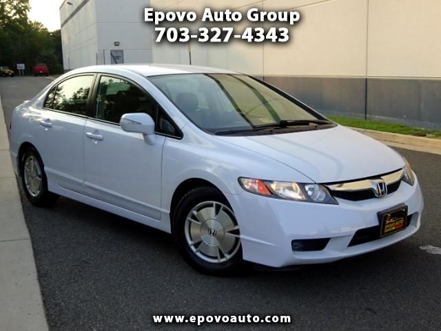 2009 Honda Civic Hybrid CVT AT-PZEV with Leather and Navigation