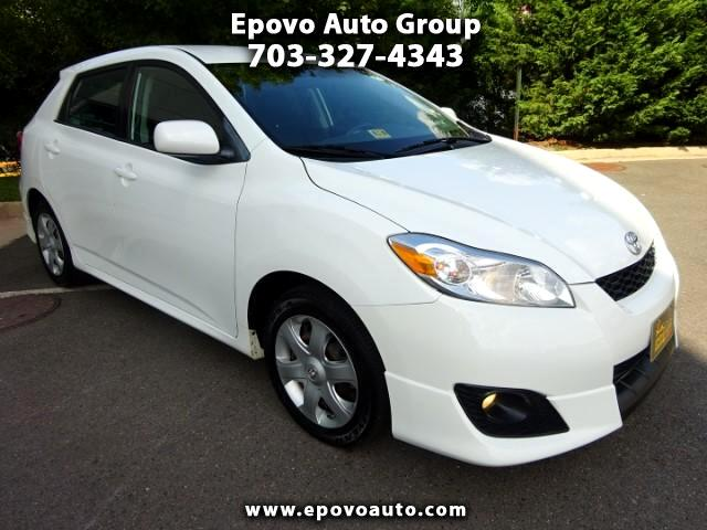 2009 Toyota Matrix S 5-Speed AT