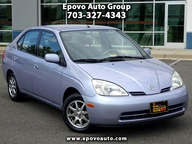 2002 Toyota Prius 4-Door Sedan