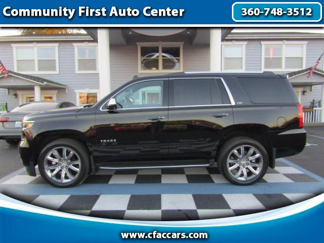 "2015 Chevrolet Tahoe LTZ 4WD W/FACTORY 22""s, NAV,MOON, LOADED!!"