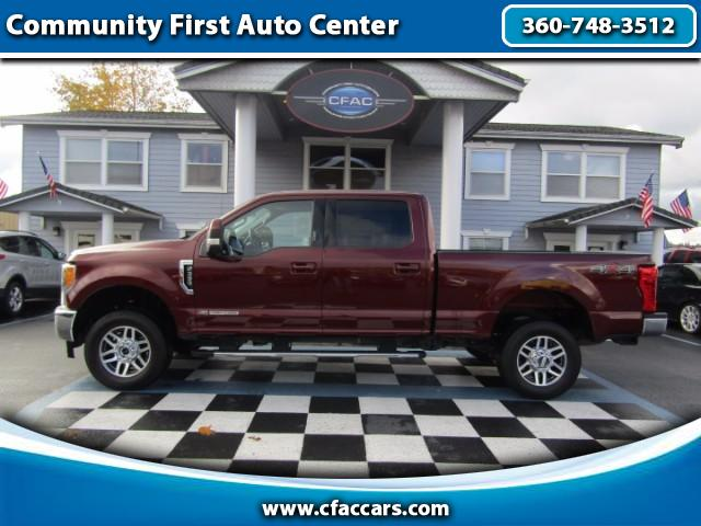2017 Ford F-350 SD LARIAT 6.7 DIESEL CREW 4WD W/DOUBLE MOONROOFS
