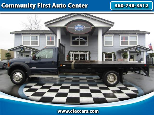 2006 Ford F-450 SD F-450SD POWERSTROKE FLATBED DRW