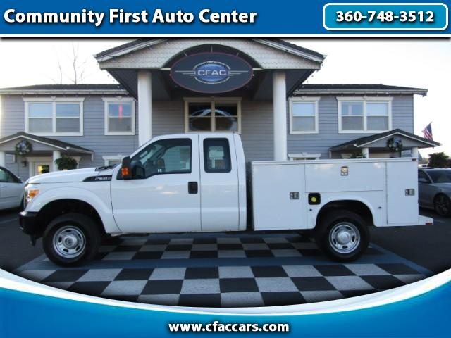 2012 Ford F-350 SD XL SUPERCAB 4WD W/ FULL SERVICE BODY