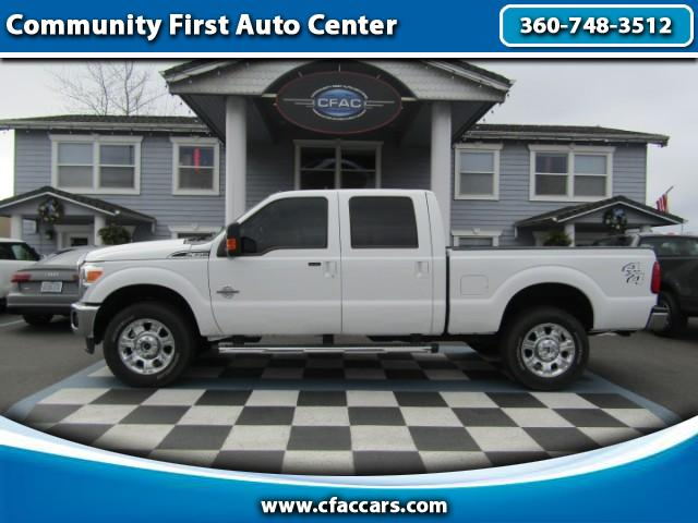 "2016 Ford F-350 SD LOADED LARIAT U.S.A. CREWCAB 4WD ""POWERSTROKE"""