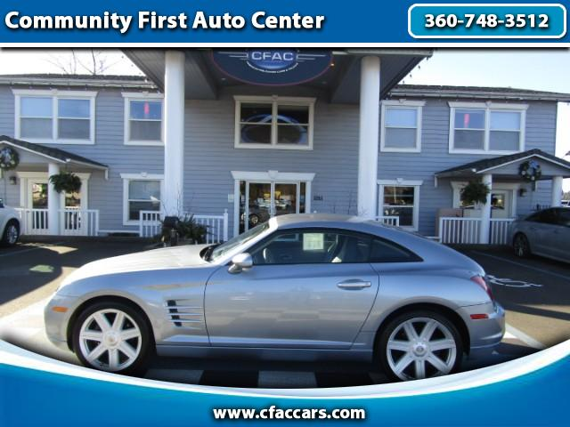 2004 Chrysler Crossfire LIMITED CROSSFIRE COUPE