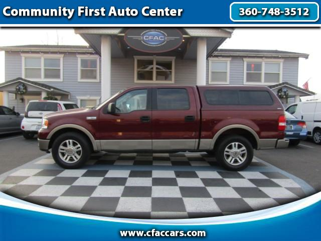 2005 Ford F-150 LOADED LARIAT SUPERCREW W/ONLY 53K MILES!!
