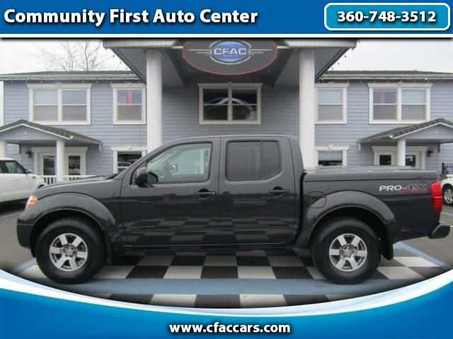 2010 Nissan Frontier PRO-4X Crew Cab 4WD
