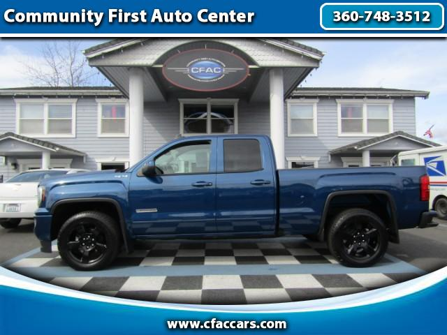 2017 GMC Sierra 1500 ELEVATION EDITION DOUBLE CAB 4WD W/ONLY 8200 MILES