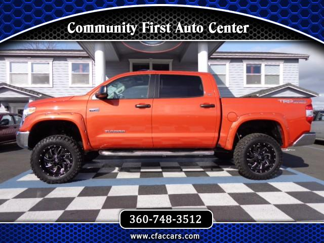 2017 Toyota Tundra LIFTED CREWMAX TRD/SPORT 4WD W/ UNDER 400 MILES!!