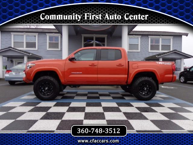 2016 Toyota Tacoma SR5 DOUBLE CAB TRD SPORT *LIFTED* *PREMIUM WHEELS/