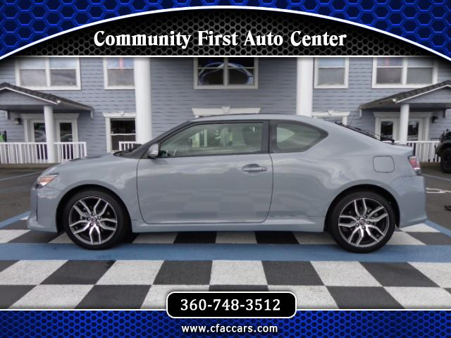 2016 Scion tC SPORT COUPE W/PANO ROOF AND ONLY 766 ACTUAL MILES!
