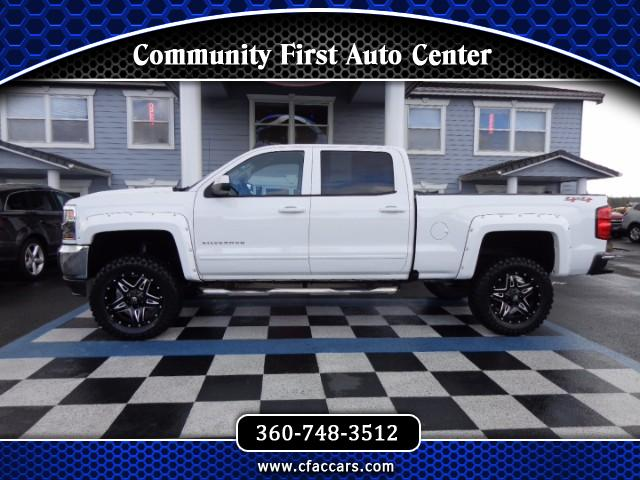 2016 Chevrolet Silverado 1500 LT CREWCAB 4WD FRESH LIFT&TIRE PKG