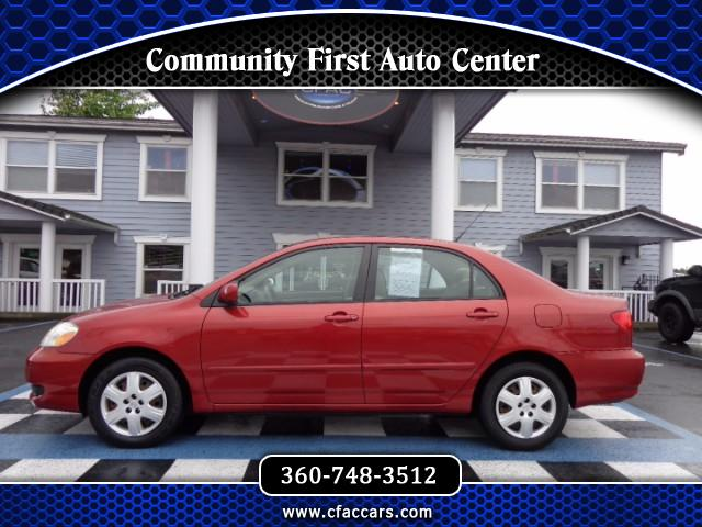 2005 Toyota Corolla LE AUTOMATIC SEDAN W/ONLY 33K ACTUAL MILES!!!
