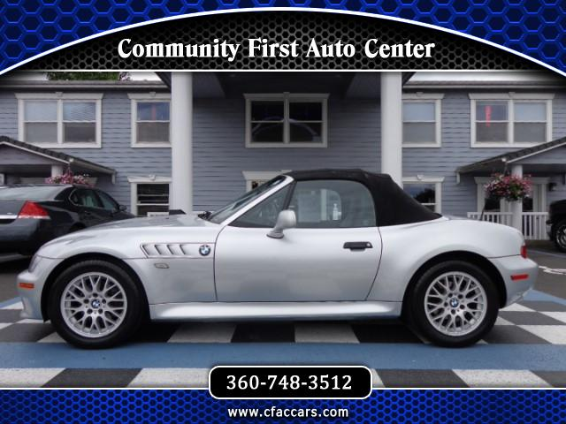 2001 BMW Z3 LEATHER LOADED ROADSTER W/ONLY 74K ACTUAL MILES!!