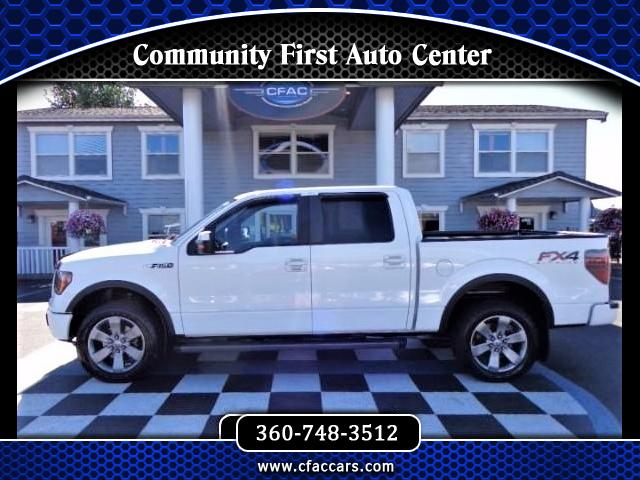 2012 Ford F-150 FX-4 SUPERCREW 4WD