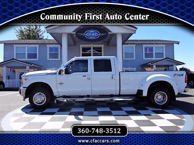 "2015 Ford F-350 SD XLT/FX4 CREWCAB 4WD ""6.7 POWERSTROKE"" DUALLY W/ONL"