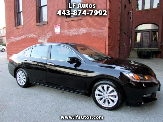 2015 Honda Accord EX-L Sedan AT with Navigation