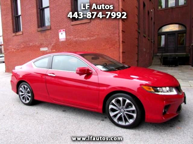 2015 Honda Accord EX-L Coupe AT with Navigation