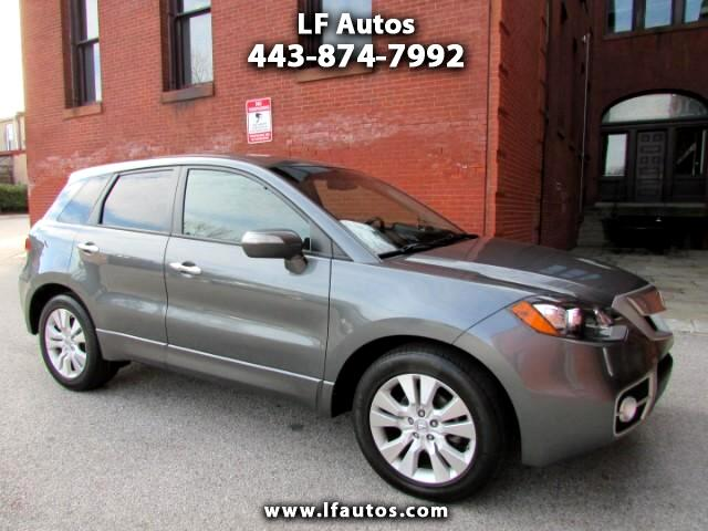 2012 Acura RDX 5-Spd AT SH-AWD with Technology Package