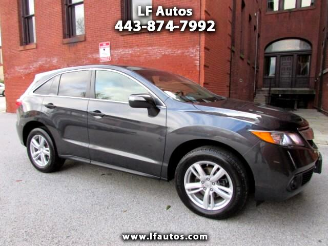 2014 Acura RDX 6-Spd AT AWD
