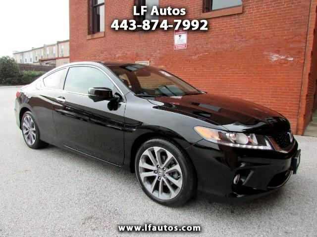 2013 Honda Accord EX-L V6 Coupe AT with Navigation