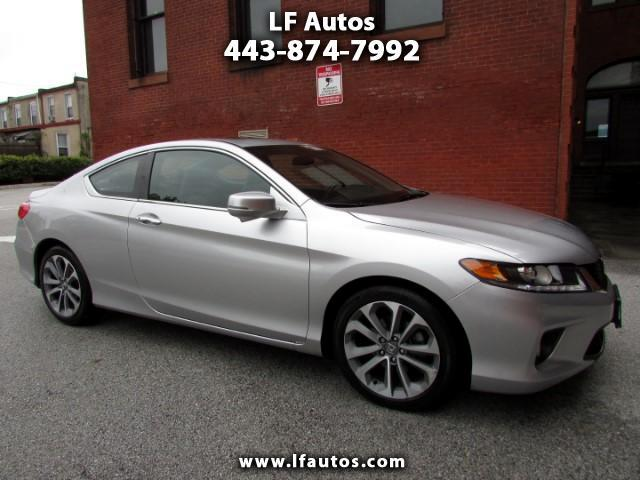 2014 Honda Accord EX-L V-6 Coupe AT with Navigation